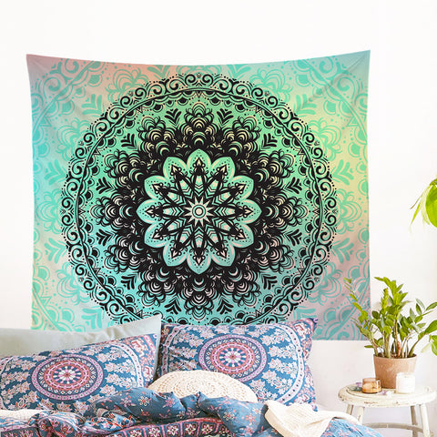 Mehndi Tapestry Wall Hanging  *LIMITED EDITION*