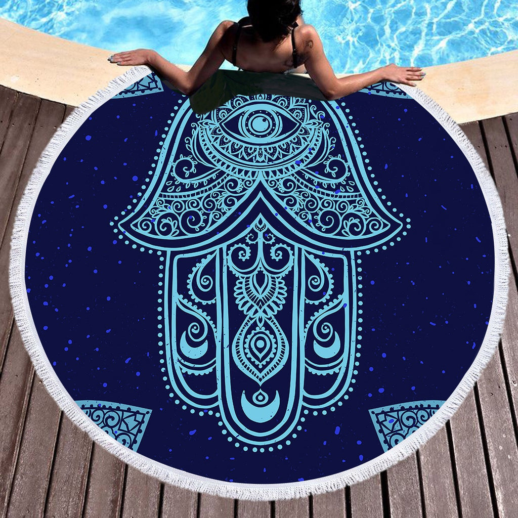 Fatima Hand Throw / Beach Towel - Bohemian Vibes Australia