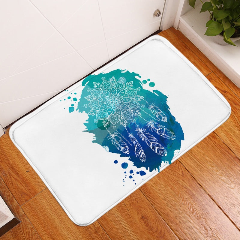 Lotus Dreamcatcher Floor Mat