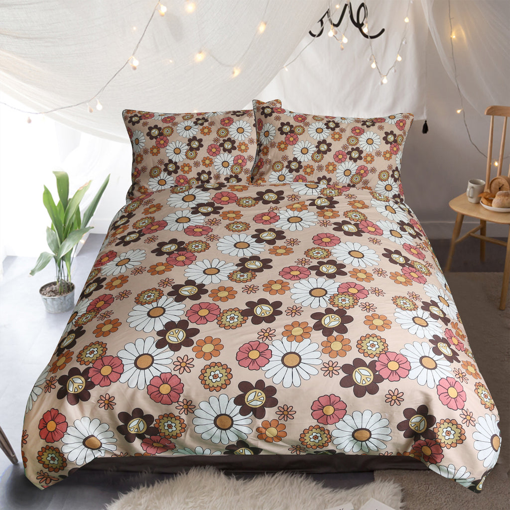 Flower Child Quilt Cover Set - Bohemian Vibes Australia