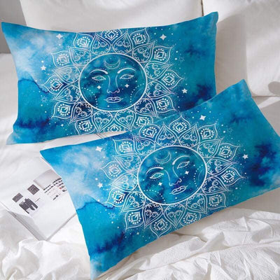 Mandala Sun Pillowcases
