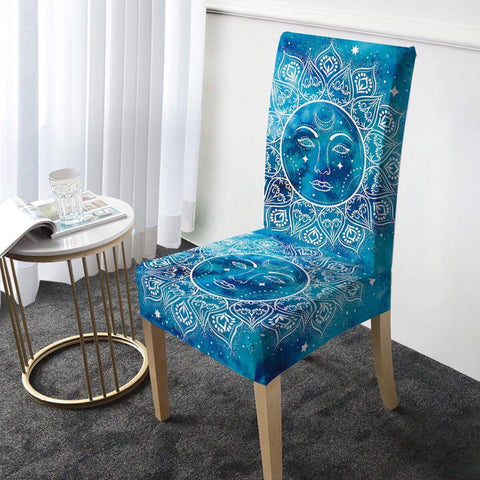 Mandala Sun Chair Cover