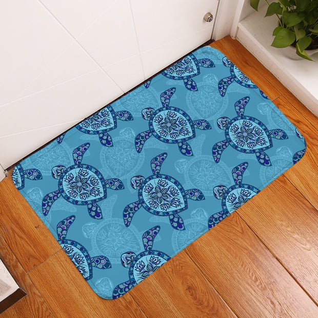 Sea Turtle Floor Mat