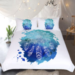 Lotus Dreamcatcher Quilt Cover Set - Bohemian Vibes Australia