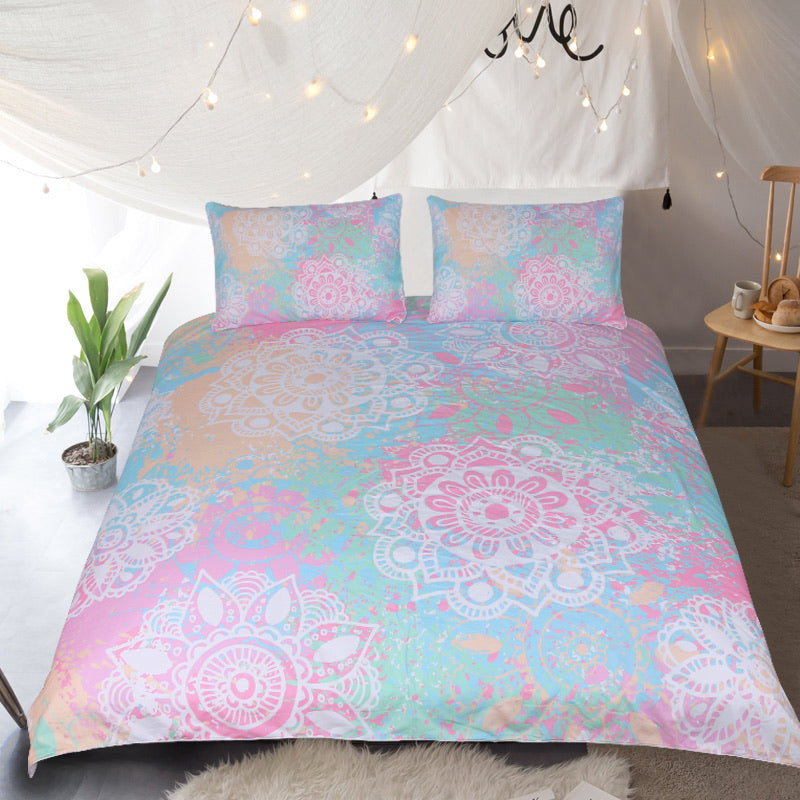 Wild and Free Quilt Cover Set - Bohemian Vibes Australia