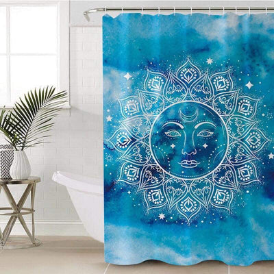 Mandala Sun Shower Curtain