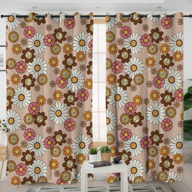 Flower Child Curtains - Bohemian Vibes Australia
