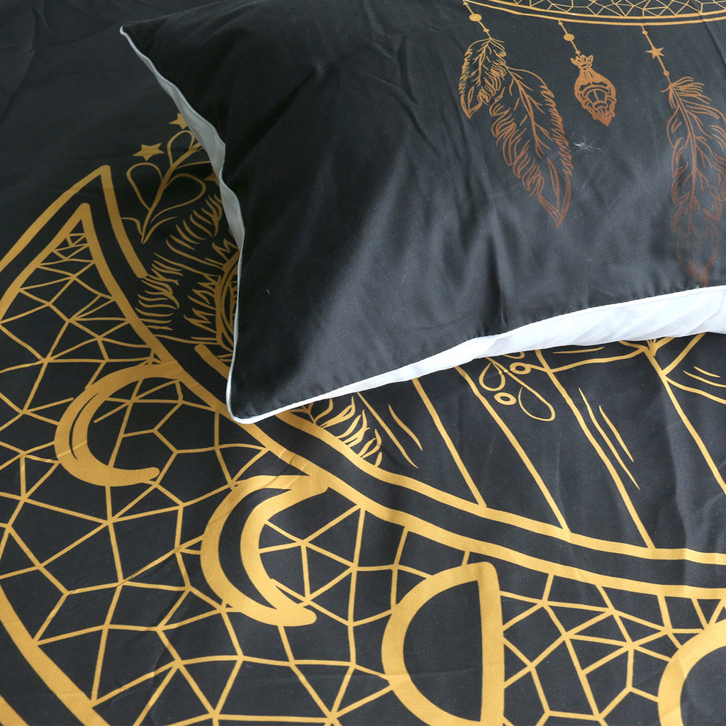 Dark Nights Quilt Cover Set - Bohemian Vibes Australia
