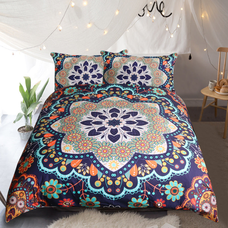 Aiyana Quilt Cover Set - Bohemian Vibes Australia