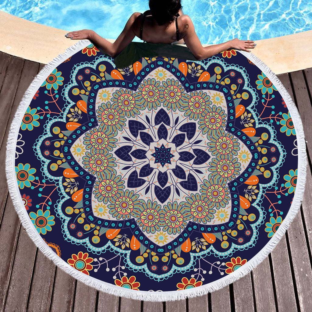 Aiyana Throw / Beach Towel - Bohemian Vibes Australia