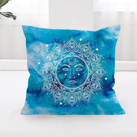 Mandala Sun Cushion Cover