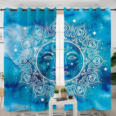 Mandala Sun Curtains