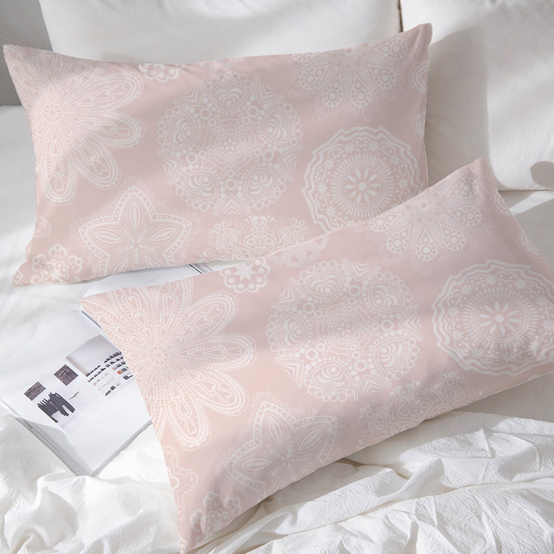 Pastel Rose Pillowcases - Bohemian Vibes Australia