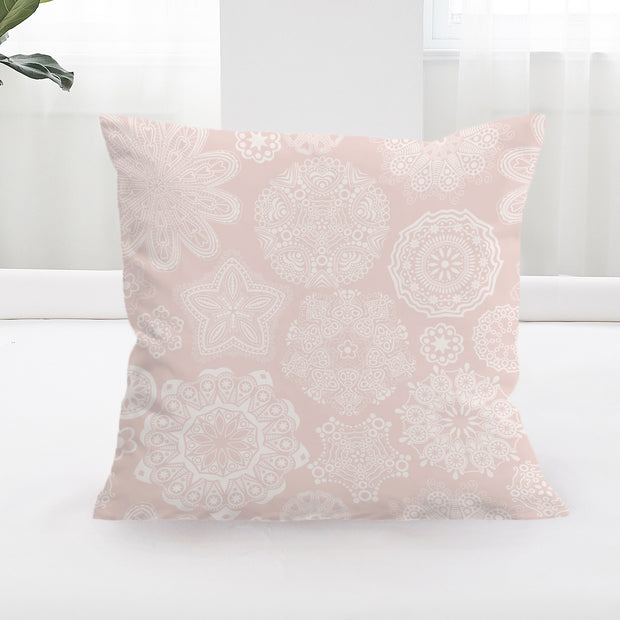 Pastel Rose Cushion Cover