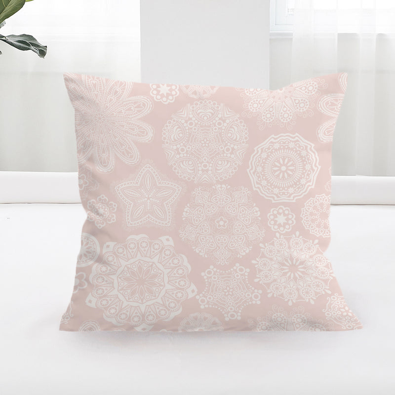 Pastel Rose Cushion Cover - Bohemian Vibes Australia