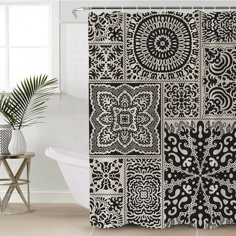 Luxe Shower Curtain - Bohemian Vibes Australia