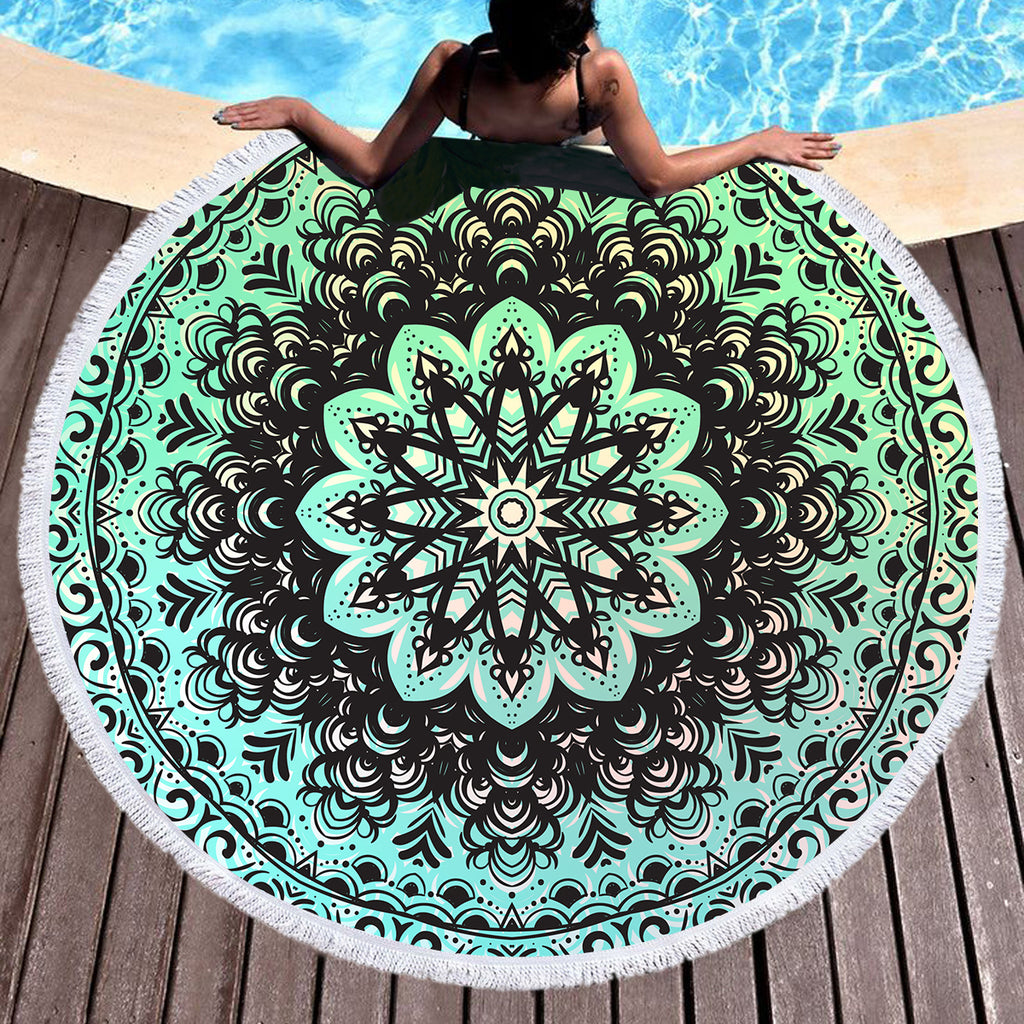Mehndi Throw / Beach Towel - Bohemian Vibes Australia