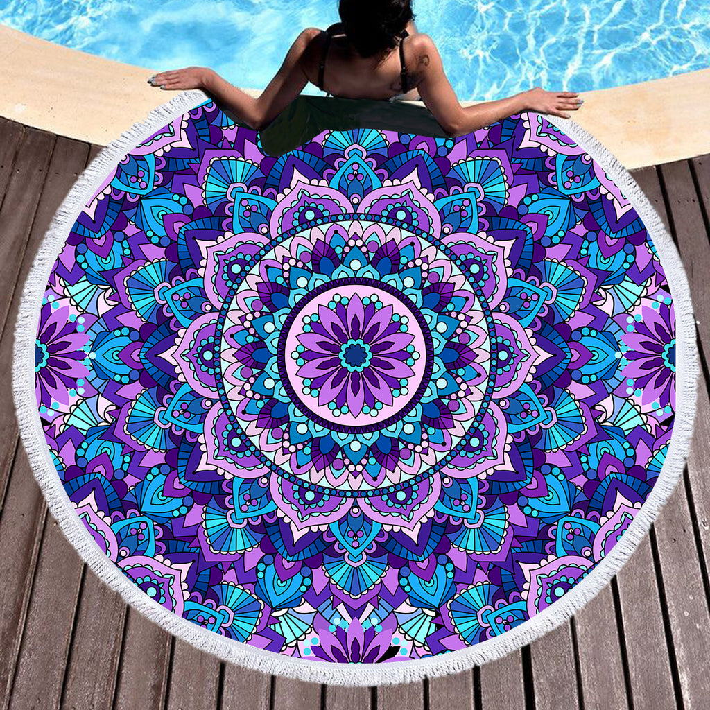 Wanderlust Throw / Beach Towel - Bohemian Vibes Australia