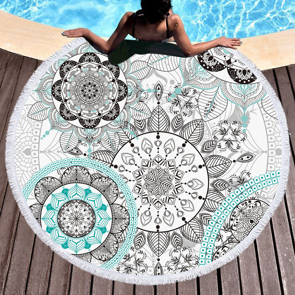 Namaste Throw / Beach Towel - Bohemian Vibes Australia