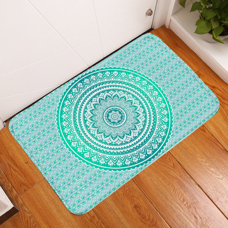 Mermaid Mandala Floor Mat