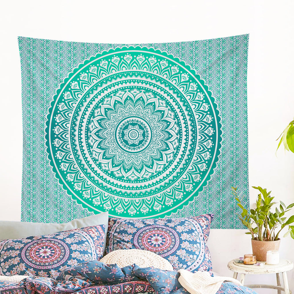 Mermaid Mandala Tapestry Wall Hanging (PRE-ORDER)