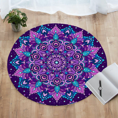 Mystical Round Floor Mat