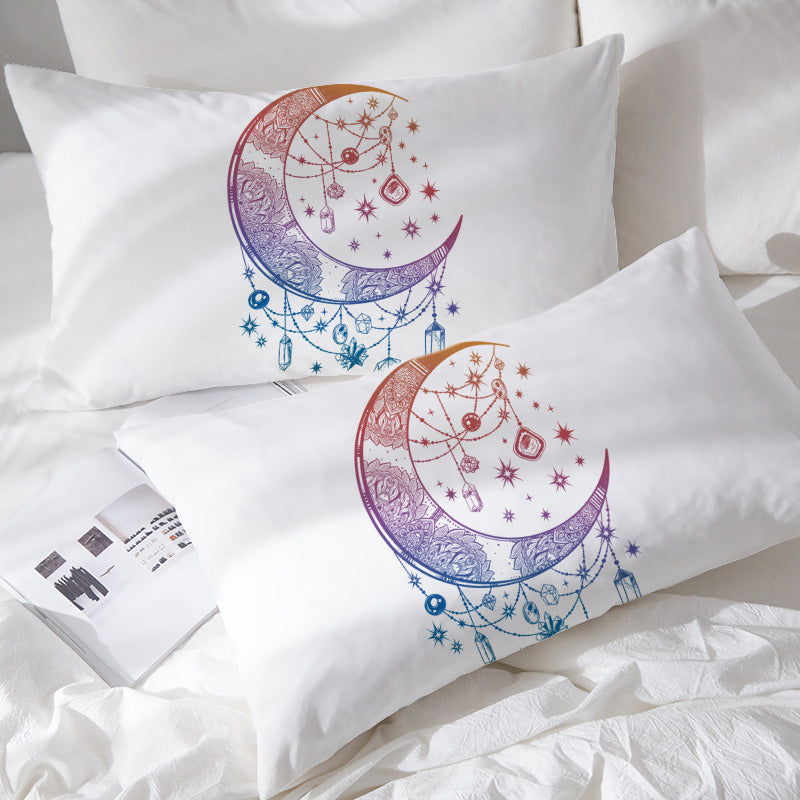 Crystal Nights Pillowcases - Bohemian Vibes Australia