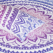 Purple Ombré Mandala Quilt Cover Set