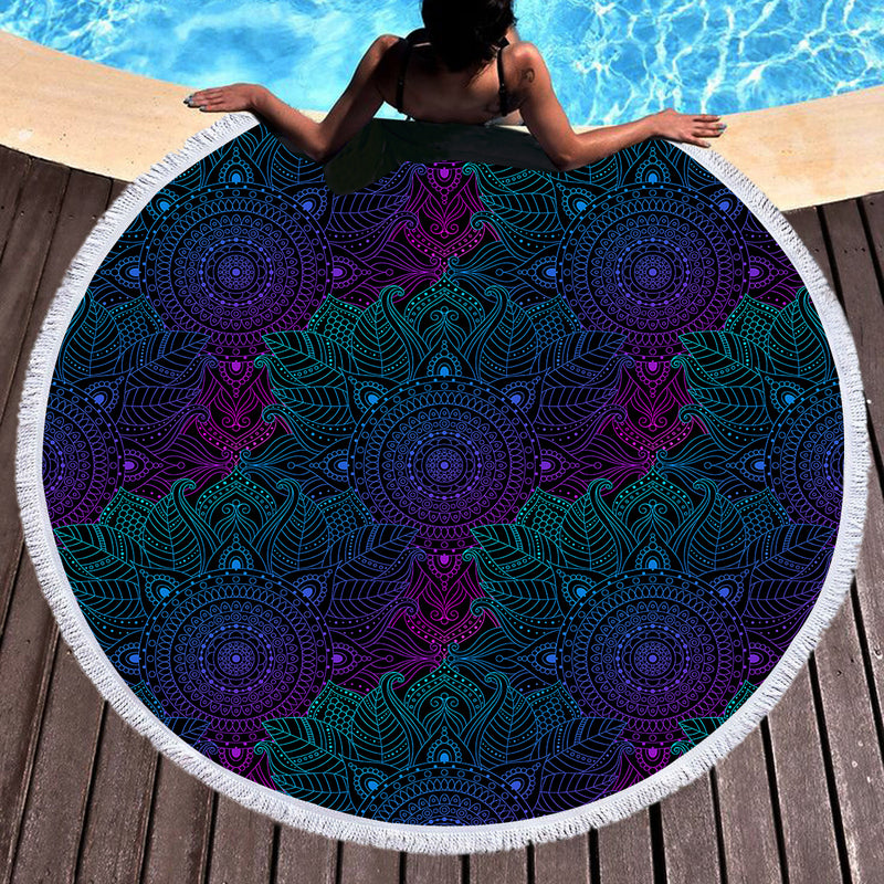 Free Spirit Throw / Beach Towel - Bohemian Vibes Australia