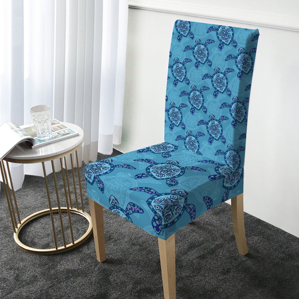 Sea Turtle Chair Cover - Bohemian Vibes Australia