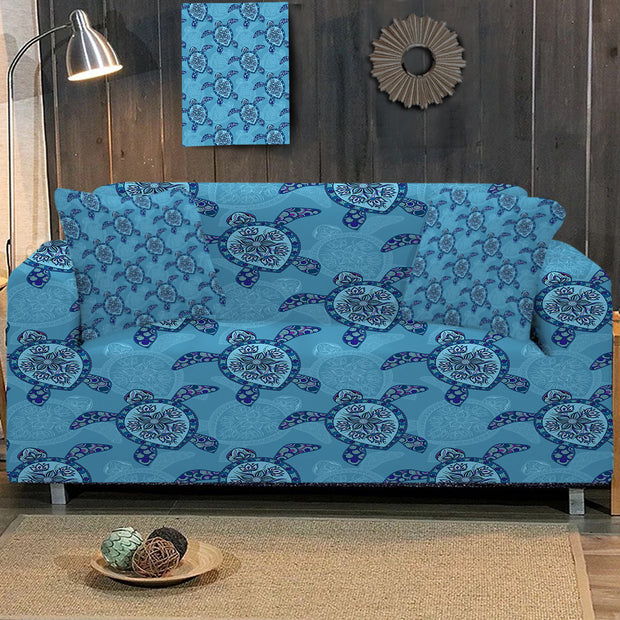 Sea Turtle Sofa Cover