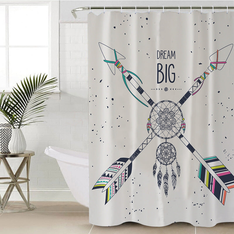 Dream Big Shower Curtain - Bohemian Vibes Australia