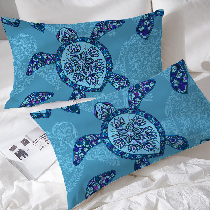Sea Turtle Pillowcases - Bohemian Vibes Australia