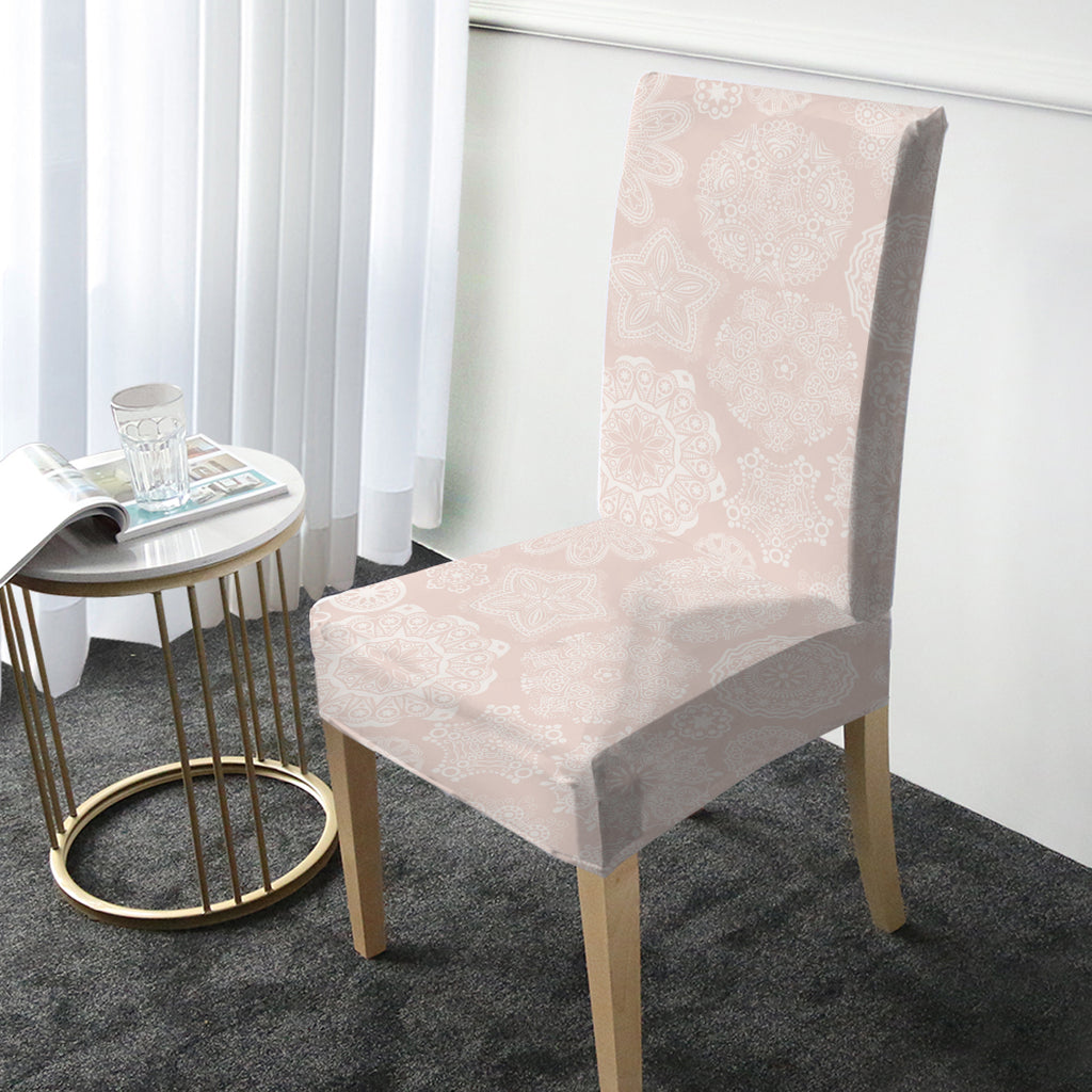 Pastel Rose Chair Cover - Bohemian Vibes Australia