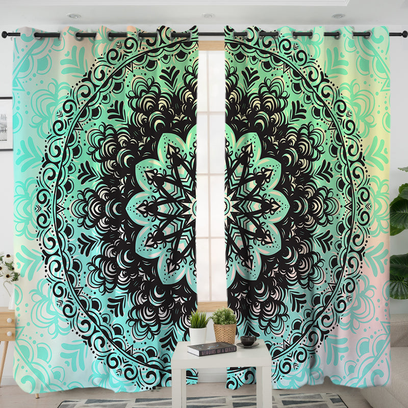 Mehndi Curtains