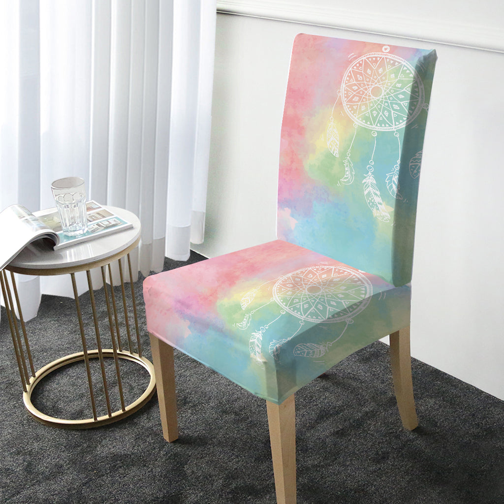 Rainbow Bohemian Dreams Chair Cover - Bohemian Vibes Australia