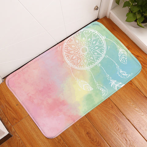 Rainbow Bohemian Dreams Floor Mat