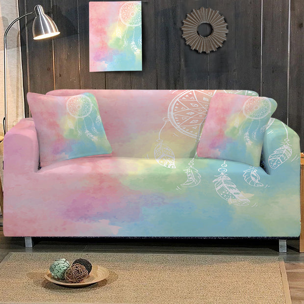 Rainbow Bohemian Dreams Sofa Cover