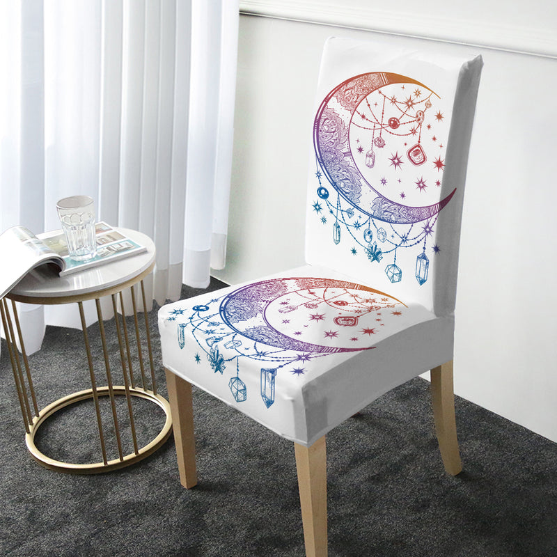 Crystal Nights Chair Cover - Bohemian Vibes Australia