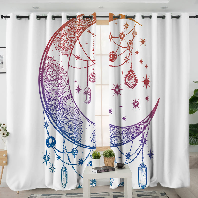 Crystal Nights Curtains - Bohemian Vibes Australia
