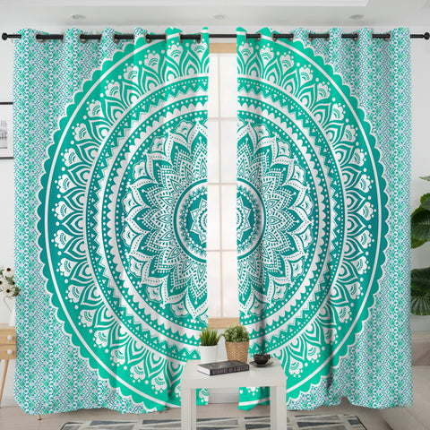 Mermaid Mandala Curtain
