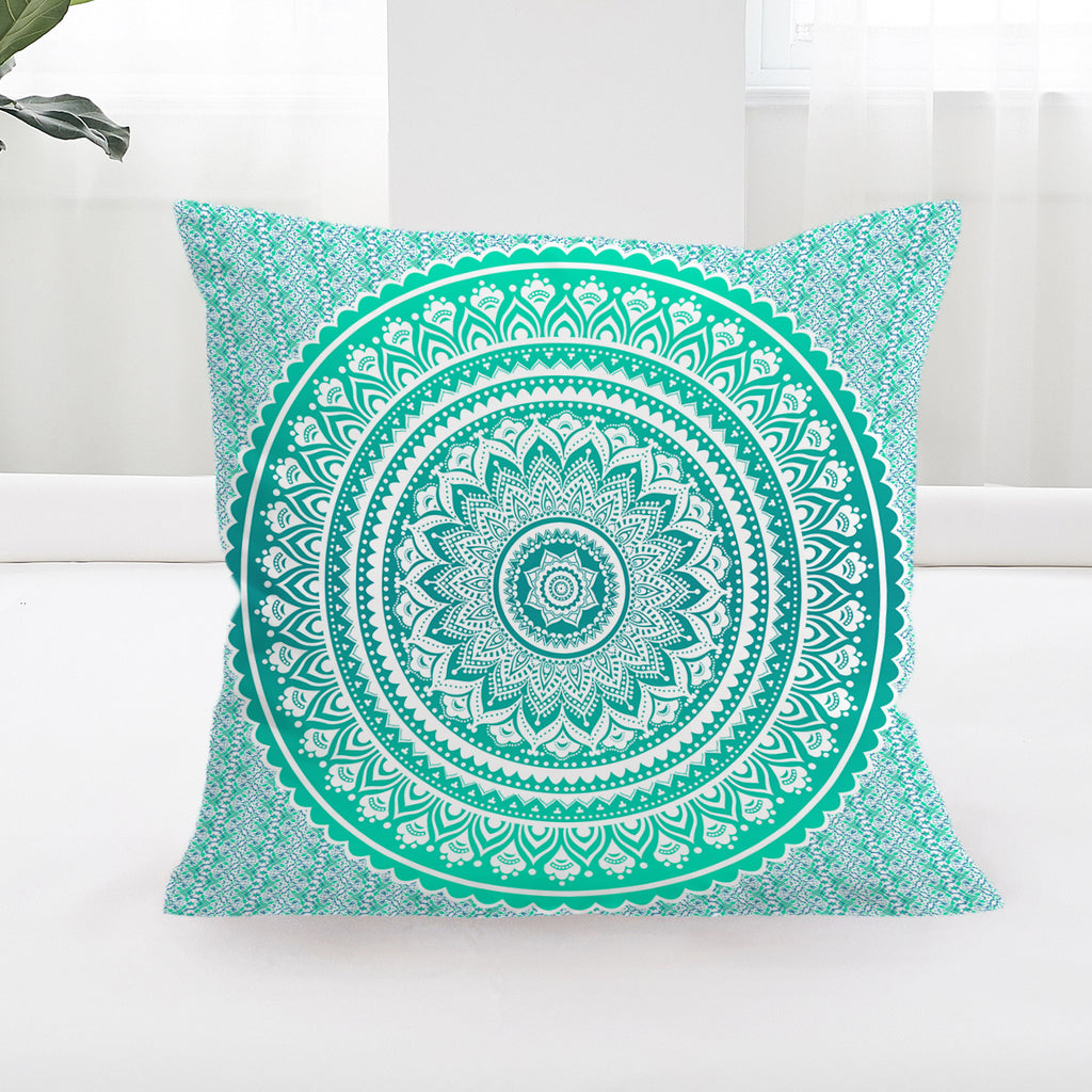 Mermaid Mandala Square Cushion Cover (PRE-ORDER)