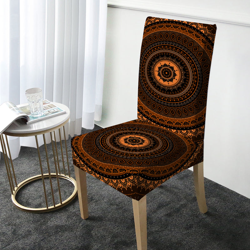 Sunset Chair Cover - Bohemian Vibes Australia