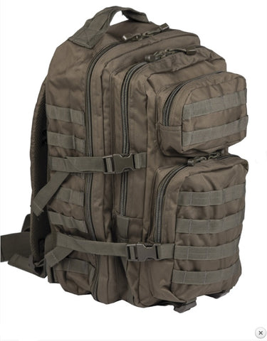 MIL-TEC OLIVE LARGE ASSAULT PACK
