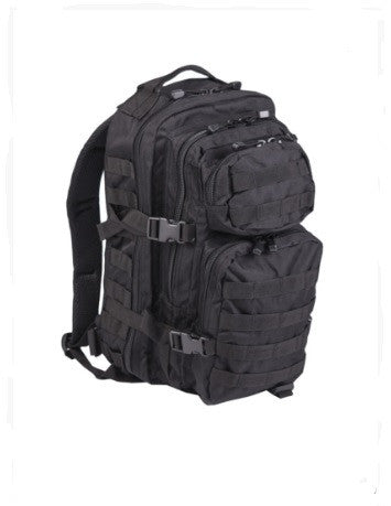 Mil-Tec® Black Small Assault Pack
