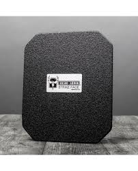 "AR500 Armor® Level III+ Lightweight Square Back Plate 10"" x 12"""