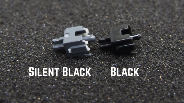 Cherry MX Silent black stem