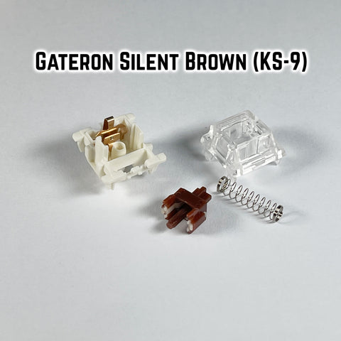 Gateron Silent Brown (KS-9)