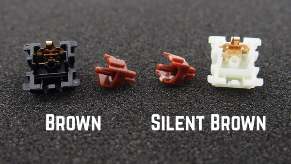 Gateron silent brown comparison