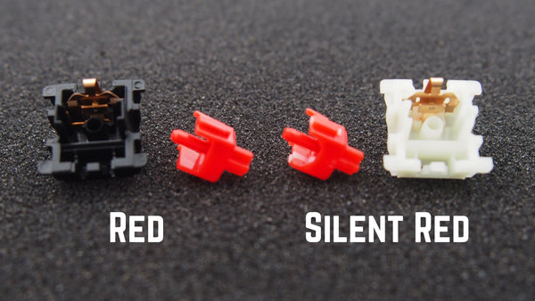 Gateron silent red comparison